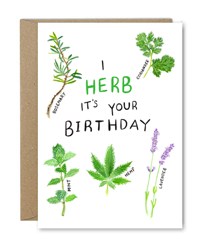 I HERB ITS YOUR BIRTHDAY